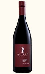 Scheid Vineyards Logo - Black