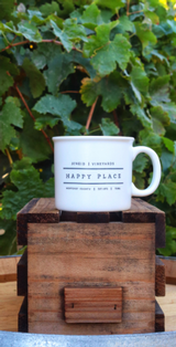 Happy Place Chunky Mug