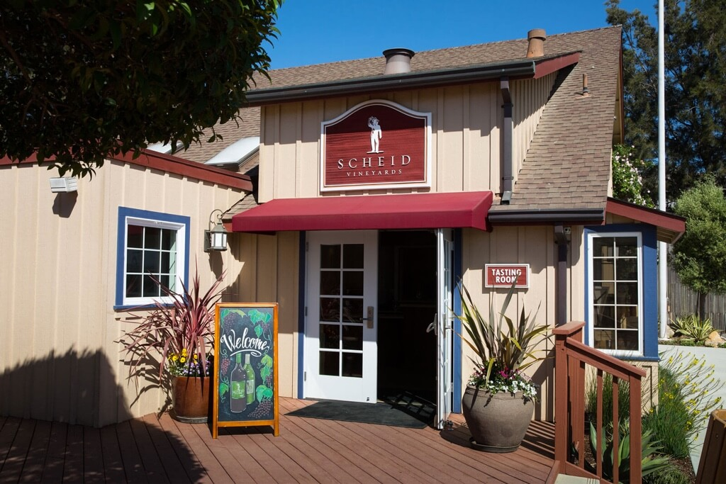 Entrance to the winery tasting room